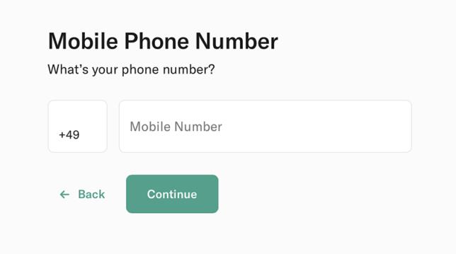 n26 mobile number