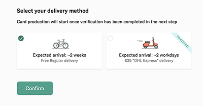 n26 delivery method